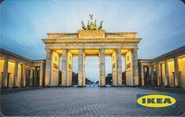 GERMANY Gift-card  IKEA - Berlin - Brandenburger Tor - Gift Cards