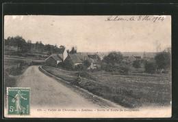 CPA Senlisse, Sortie Et Route De Dampierre - Francia