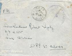 Maroc Morocco 1944 Mazagan To SP 82049 (Italy) Military Unfranked FM Cover - Brieven En Documenten