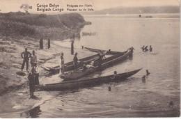 CONGO BELGE 1921    ENTIER POSTAL CARTE ILLUSTREE DE STANLEYVILLE - Stamped Stationery