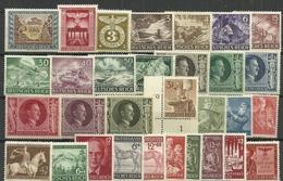3.Reich:  Aus 1943, Postfrisch/Falz - Germany