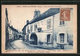 CPA Pont-sur-Yonne, Hôtel De L'Écu - Pont Sur Yonne