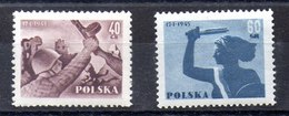 Serie De Polonia N ºYvert 792/93 (**) - 1944-.... República