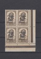 Besetzung Estland 4er Block Mit Falz Gummimängel - Besetzungen 1938-45