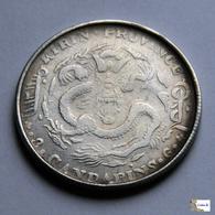 China - Kirin  Province - 50 Cents - 1908 - FALSE - Imitazioni