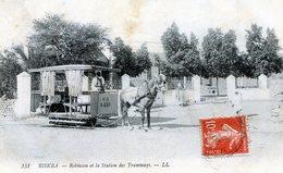 Biskra. Robinson Et La Station Des Tramways - Biskra