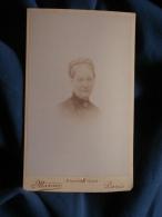 Photo CDV Marius à Paris -  Portrait Nuage Femme Agée, Circa 1895 L397B - Photographs