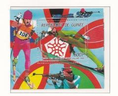 Guinee 1988 Calgary Winter Olympic Games Souvenir Sheet MNH/** (H44) - Winter 1988: Calgary