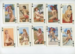 "Jeu De 32 Cartes """"EROTIQUE"""" Cards Game """"""EROTIC"""" - 32 Cards"