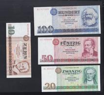 Lot DDR Bankfrisch - 1949-1990: DDR