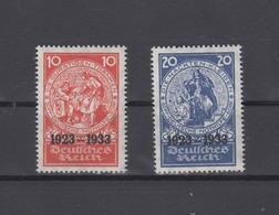 Dt. Reich Mi. 509-510 Postfrisch Geprüft - Unused Stamps