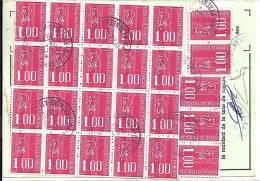 TP N° 1892x25  SUR ORDRE DE REEXPEDITION DE 1978 - 1971-76 Marianne De Béquet