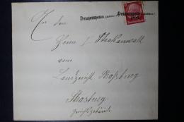 Elsass Alsace :  Notstempel DRUSENHEIM Cover - Bezetting 1938-45