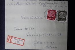 Elsass Alsace :  Einschreiben Cover PFAFFENHOFEN  1941 - Besetzungen 1938-45