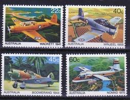 Australia 1980 Set Of Stamps To Celebrate Australian Aircraft. - 1980-89 Elizabeth II