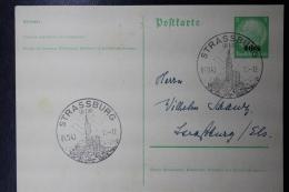 Elsass Alsace :  Strassburg  Postkarte Nr 1 - Besetzungen 1938-45
