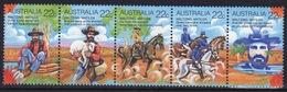 Australia 1980 Set Of Stamps To Celebrate Folklore Waltzing Matilda. - 1980-89 Elizabeth II