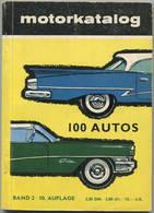 Motorkatalog 1958 - 128 Seiten - 100 Autos Von Alfa Romeo Giulietta Bis Wolseley 6/90 - Angaben Zu Preis, PS Und Höchstg - Catalogi