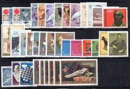 YUG1972 - YUGOSLAVIA 1972, L'annata Di Commemorativi Senza BF : Composizione Come Da Scan ***  MNH - Jugoslavia