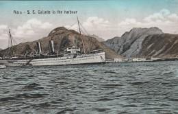 ADEN - BATEAU  S.S Galsette In The Harbour - - Yemen