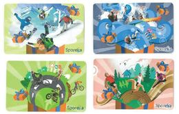 Carte Cadeau Sporeka Decathlon Lot 4 Cartes - Sport