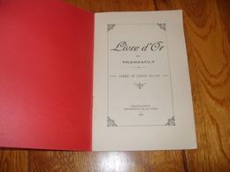 Livre D'Or Poilus Indre Tranzault 36 Ww1 - Guerre 1914-18