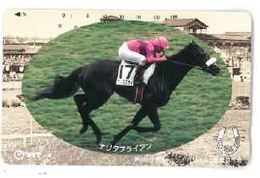 Japon Course Hippique Jockey Equitation NTT 1995 - Sport