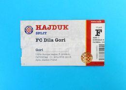 HNK HAJDUK V FC DILA GORI - 2013. UEFA EUROPA LEAGUE Qual. Football Match Ticket Soccer Billet Fussball Georgia - Match Tickets