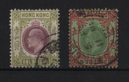 HONG KONG DE LA RUE EDWARD VII GEORGE V - Hong Kong (...-1997)
