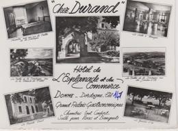 24  Domme Hotel De L'esplanade Et Du Commerce  Cgez Durand - Francia