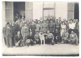 Photo Camp 1941, Départ Du Capitaine Arthur Remplacé Par Le Capitaine Lombard ( à Localiser ) - Guerre, Militaire