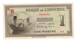 French Indochina 1 Piastre 1945 UNC - Indochina