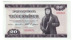 Faeroer 20 Kronor 1986 UNC - Faroe Islands