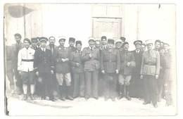 Photo à Localiser ( Camp 1941, Départ Du Capitaine Arthur Remplacé Par Le Capitaine Lombard ) - Guerre, Militaire