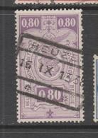 COB 144 Oblitéré BEUZET - Railway