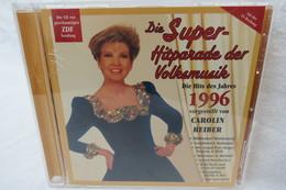 """CD """"Super-Hitparade Der Volksmusik"""" Hits Des Jahres 1996, Vorgestellt Von Carolin Reiber - Musica & Strumenti"""