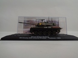 Véhicule M41A3 WALKER BULLDOG - 4th Cavalry 25Th Infantry Division ; Thailand 1962  - 1/72- Neuf - Altaya - Voitures, Camions, Bus
