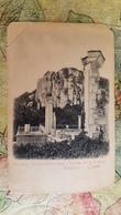 RUSSIA..OLD POSTCARD.CRIMEA.OREANDA. Palace Ruines. 1910s - Russia
