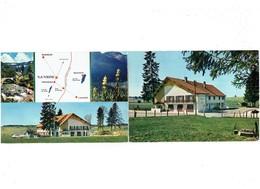 Double Cpm - 25 - Doubs - La Vrine Par St Gorgon - Hostellerie Relais D'étape Camping - Altri Comuni