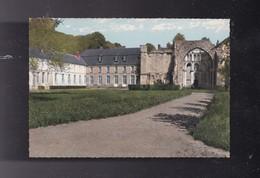 76 SEINE MARITIME , VALMONT,le Château Et Les Ruines De L' Abbaye - Valmont