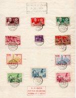 !!! PRIX FIXE : VIET-NAM, TIMBRES COMMEMORATIFS, CACHETS D'HANOI DU 7/2/1955 - Vietnam