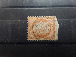 CERES No 38, Siège De Paris,  40 C Orange VARIETE FILET GAUCHE Obl Cachet FONTENOY LE CHÂTEAU   Vosges, 18 Juin 1878, - 1870 Siège De Paris