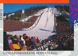 1 AK Norwegen * Lysgårdsbakken - Skisprungschanzenanlage In Lillehammer - Erbaut Für Die Olympischen Winterspiele 1994 * - Norvège