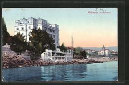 AK Abbazia / Opatija, Partie Am Nordstrand - Kroatien
