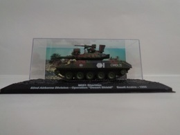 """Véhicule M551 SHERIDAN - 82nd Airborne Division - Opération """" Desert Shield """" Saudi Arabia-1990  - 1/72- Neuf - Altaya - Voitures, Camions, Bus"""