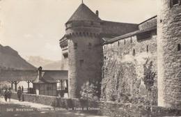 MONTREUX: Château De Chillon - Les Tours De Défense - VD Vaud