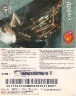 TARJETA TELEFONICA DE TAIWAN, PREPAGO (CINE - TOMB RAIDER). (162) - Cinema