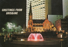Brisbane - City Square Fountain - Brisbane