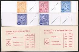 1972 Finland Slot Machine Booklet Facit HA 5 I N Rm V (0,60) MNH** - Finland
