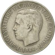 Monnaie, Grèce, Constantine II, 5 Drachmai, 1966, TTB, Copper-nickel, KM:91 - Greece